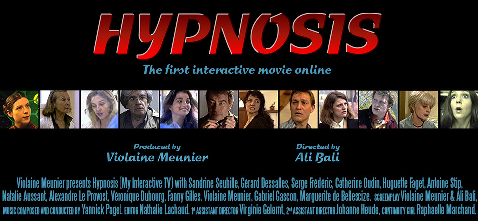 Hypnosis - the first interactive movie online